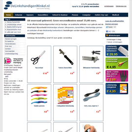 Linkshandigenwinkel.nl